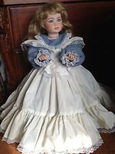 Thelma Resch Roma mold  Handcrafted Porcelain  25 inch Doll by Lorene's Dolls