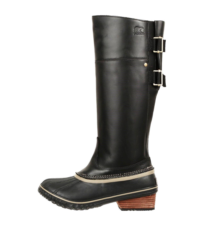 SOREL Slimpack Women's Leather Riding Tall II Boot, Black, sizes 7, 8, 8.5 NIB