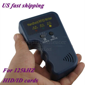 Portable Handheld Card Writer/Copier Duplicator for 125KHz