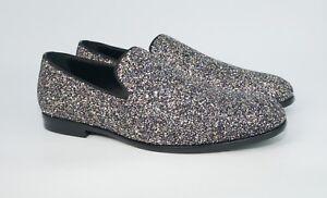 c15bc623da926 Jimmy Choo Men's Marlo Glitzy Glitter Leather Venetian Loafer ...