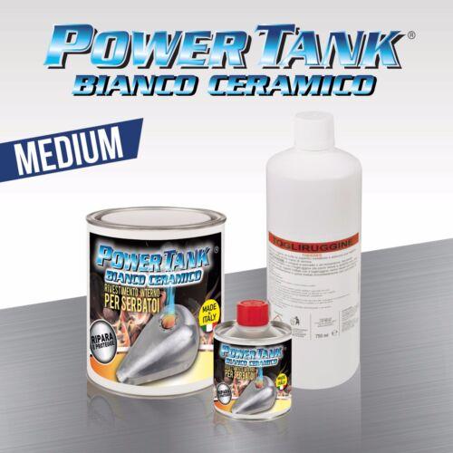 KIT MEDIO Più economico di tankerite Power Tank Bianco Ceramico  serbatoio