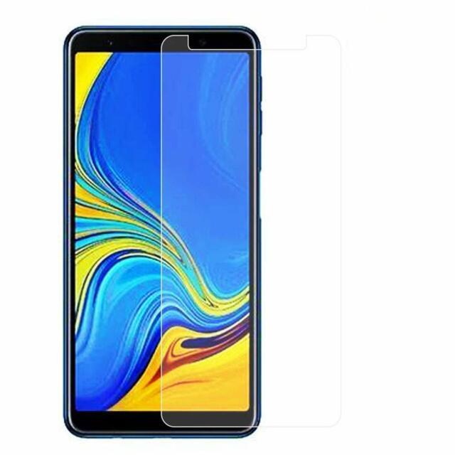 Panzerfolie Samsung Galaxy A7 2018 Display Schutz Glas 9H Schutzfolie Klar