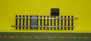 Voie-JOUEF-HO-Rail-Droit-Ref-4852-1-coupure-avec-Prise-123-5-mm-TBE