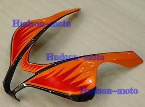 Front Nose Cowl Upper Fairing For CBR600RR 2007-2012 CBR 600RR 07 08 Orange/BK