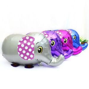 Inflator-Animal-Elephant-Balloons-Foil-Walking-Pet-Gifts-Party-Decor-3C