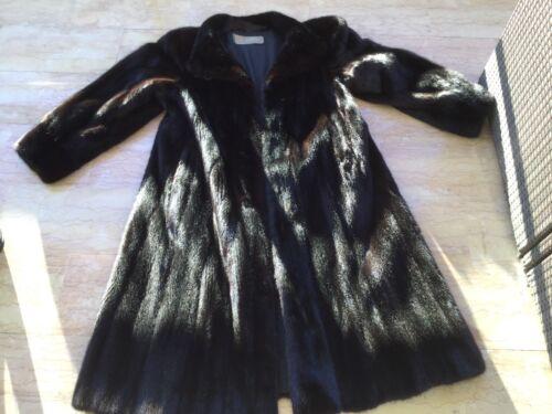Cappotto 42 visone nero nuovo di 44 Copenhagen taglia sublime Levinsky ApwgqBq