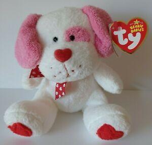 """TY Beanie Baby """"Lovesick"""" Puppy Dog Plush Soft Stuffed Toy w/tags April 14, 2006"""