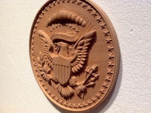 President Seal of USA Hardwood Coat of Arms.