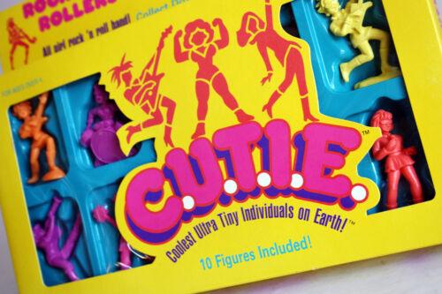 GIRL EXOGINI MUSCLE 10 PACK MATTEL NEW MISB ! RARE VINTAGE 1986 CUTIE C.U.T.I.E