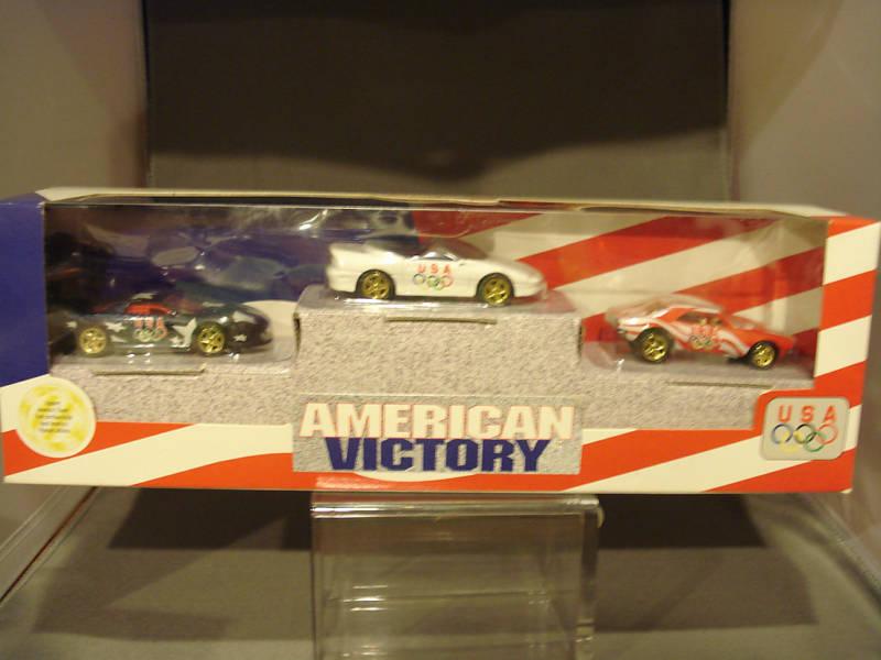 1996 Hot Wheels American Victory Camaros