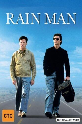 1 of 1 - Rain Man (DVD, 2004) Tom Cruise Dustin Hoffman R4 🇦🇺New Sealed Free Postage