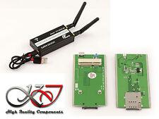 Adaptateur MiniPCIe vers USB pour module WWAN LTE - Slot SIM 3G 4G