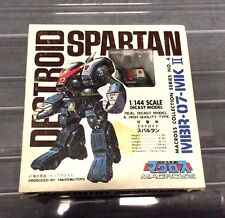 Macross Robotech Destroid Spartan Diecast Figure Toy Takatoku New 1/144 Scale