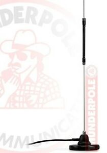CB-Antenna-Ariel-Centre-Loaded-amp-Mag-Mount-Kit-Pre-set-No-Tuning-Roof-or-Boot