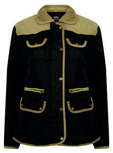 RIDING-COAT-JACKET-PADDED-WALKING-WARM-BIG-QUILTED-PADDED-PLUS-SIZE-LADIES-NEW