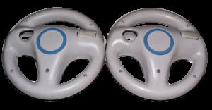2-x-Genuine-Nintendo-Wii-Wii-U-White-Steering-Wheel-Mario-Kart-Racing