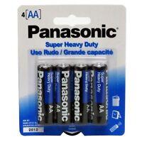 16 Aa Panasonic Super Heavy Duty Batteries - 4 X 4 Packs