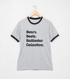 Bears-Beets-Battlestar-Galactica-Shirt-The-Office-T-Shirt-Dwight-Schrute-Tee