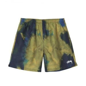 Pantaloncino-Stussy-DARK-DYE-WATER-SHORT-Multicolore-113118-NAVY-Uomo