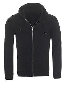 Diesel-S-YAMA-Hoodie-Sweatshirt-Pullover-Pulli-Kapuzenpullover-schwarz-hoody-NEU