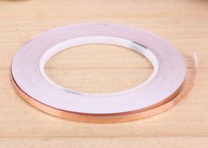 5 mm x 5 Meter selbstklebend Kupferband Kupferfolie EMI 0,5 cm Schnecken Abwehr