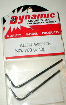 RTR Gold .050 Allen Tip Tire and Gear Wrench For Slot Cars