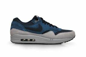 Original Homme Nike Air Max 1 Cuir Baskets 654466 400 | eBay