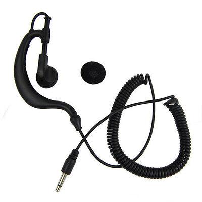 3.5mm Listen Only Earpiece+3.5mm mono jack for Speaker Mic For 2way Radio NEW