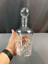 """VntG Waterford Crystal Decanter """"Brookside"""" Marquis Collection German"""