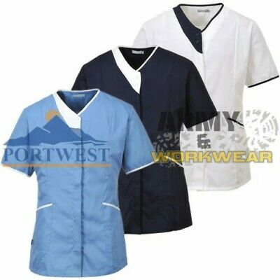 Dental Clinic Uniform Ladies Healthcare Tunic Ideal for Medical