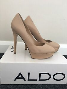 Heels Size 38eu Aldo Killer Leather 5uk 100 dOEqnvw4