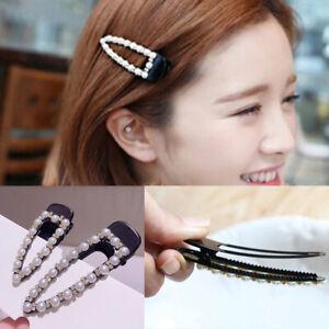 Fashion-Girls-Pearl-Hair-Clip-Clamp-Hairpin-Rhinestone-Pin-Hair-Accessories