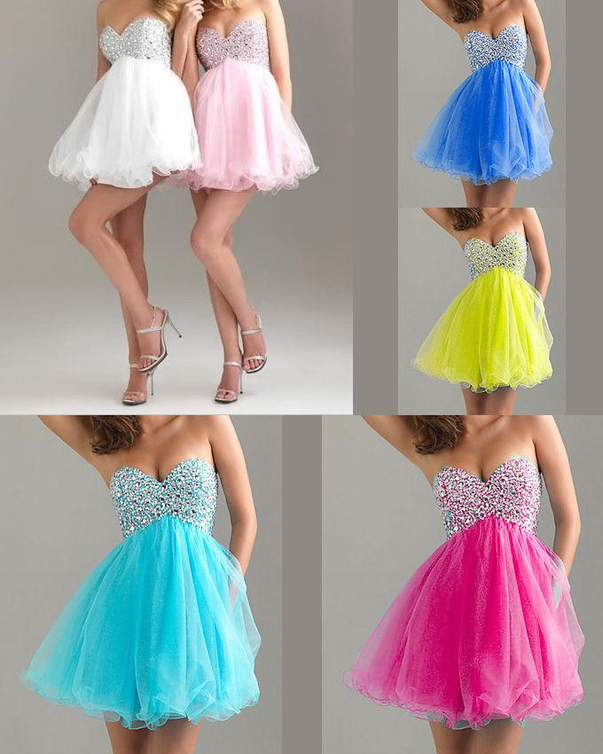 Mini abito paillettes vestito vestito vestito donna evening dress cerimonia ballo damigella w25 63d63e