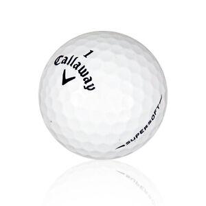 12 Callaway Supersoft Mint Used Golf Balls Aaaaa Sale Ebay