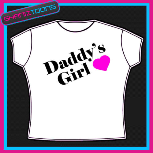 DADDY/'S GIRL LADIES WOMENS T SHIRT