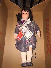 """CARMEN"" Felt Doll By Lenci - W Box & COA - numbered #467/499 Limited"