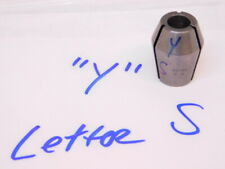 Used Universal Engineering Double Taper Series Y Collet Letter S3480