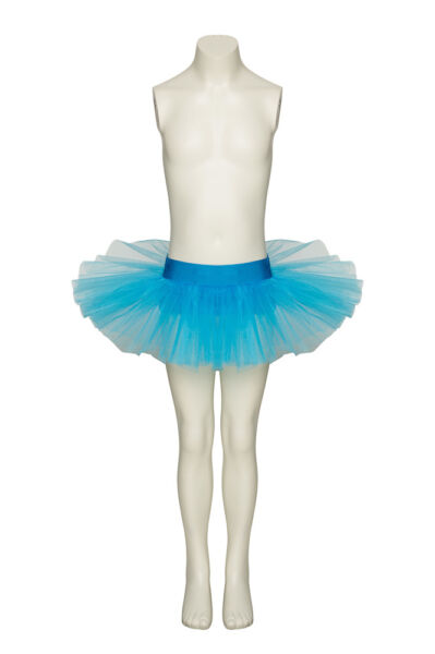 Abundante Chicas Damas Turquesa Ballet Danza Fancy Dress 3 Neto Capa Tutu Falda De Katz-ver