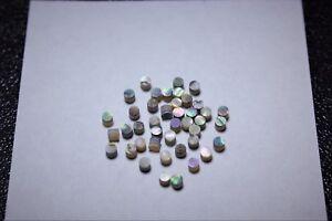 1 Inlay Set De 50 Pcs Inlay Material Vert Abalone Dots (2.0 Mm X 1.55 Mm)-afficher Le Titre D'origine Dans La Douleur