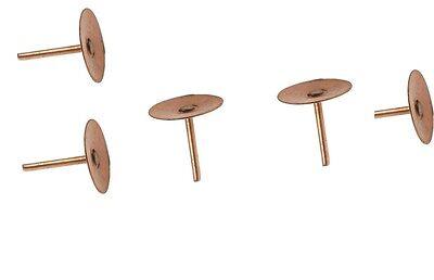 "Details about  /Copper Disc Rivets Nails 19mm 3//4/"" Roofing Slate Tile Rivets"