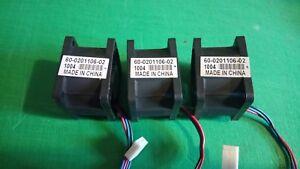 3 X Brocade 60-0201106-02 Système Fans Ffb0412vhn-afficher Le Titre D'origine