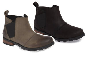 4adf0dfdb0b Details about NEW SOREL Women EMELIE CHELSEA Boot, All Sizes