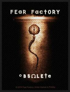 OFFICIAL-LICENSED-FEAR-FACTORY-OBSOLETE-SEW-ON-PATCH-METAL