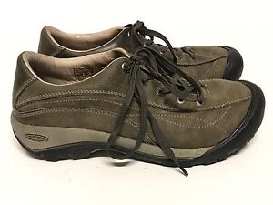 e95a6a22bed KEEN 53001 WOMEN'S BROWN TOYAH URBAN TRAIL LACE UP SNEAKER HIKING ...