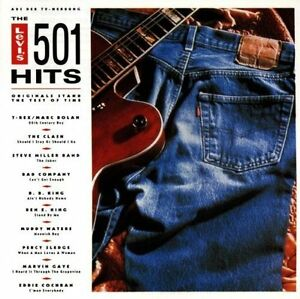Levi-039-s-501-Hits-1991-T-Rex-Clash-Steve-Miller-Band-Bad-Company-Mud-CD