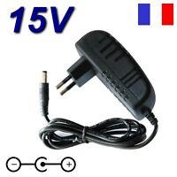 Adaptateur Secteur Chargeur 15v Pour Aspirateur Electrolux Ergorapido 2in1