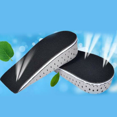Men Women Increase Height High Full Insoles Memory Shoe Inserts Cushion Pads New