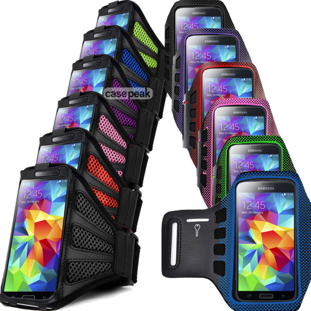 Sports Armband Case For Samsung Running Galaxy Jogging Cover Gym i9500 i9600