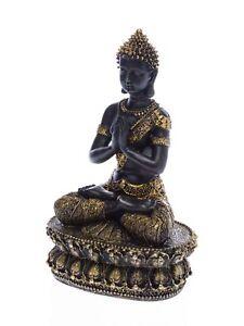 Buddha-Meditation-Feng-Shui-Skulptur-antik-Stil-Asien-sculpture-Budda-Tibet-34cm