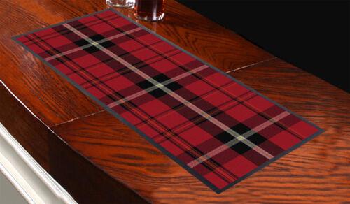 Design Tartan 4 bar Tapis BARRE Tapis bonne idée cadeau Pubs CLUBS soirées